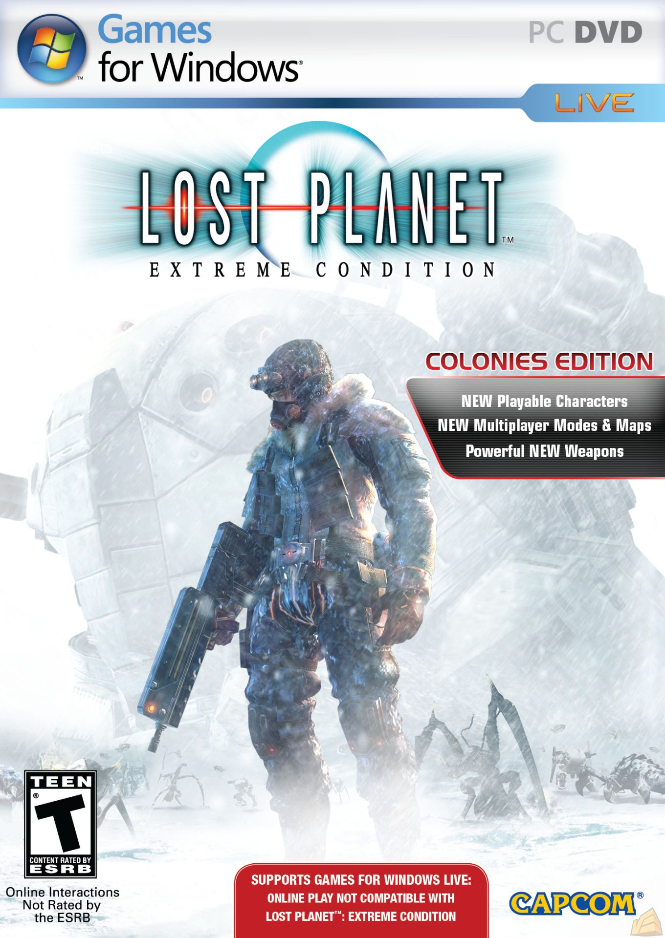 Lost Planet Extreme Condition Colonies Edition (PC/2008/RIP/ISO) Rus.